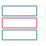 Avery Removable Label Pad 1x3 inches White/Blue 8312
