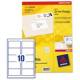 Avery Laser Logo Label for Smartstamp 135x38mm 10TV White Pack of 40 L5103-40