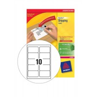 Image for Avery Blockout Shipping Label 99.1x57mm Pack of 100 L7173B-100