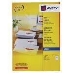 Avery QuickDRY Inkjet Label 63.5x72mm 12 per Sheet 12TV Pack of 100 White J8164-100