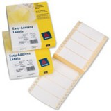 Avery Easy Address Label 89x37mm Pack of 500 EAL01