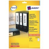 Avery Filing Labels Laser Lever Arch 4 per Sheet 200x60mm Ref L7171 [100 Labels]