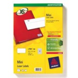 Avery Mini Labels Laser 65 per Sheet 38.1x21.2mm White Ref L7651-25 [1625 Labels]