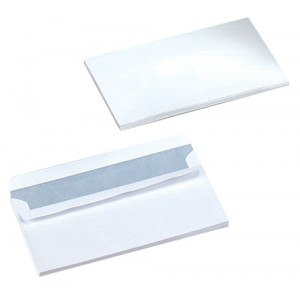 5 Star Envelopes Wallet Press Seal 80gsm White DL [Pack 1000]