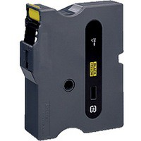 Brother P-Touch Tape 24mm Black/Yellow TX651