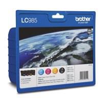 Brother LC-985 Inkjet Cartridge Rainbow Pack LC985RBWBP
