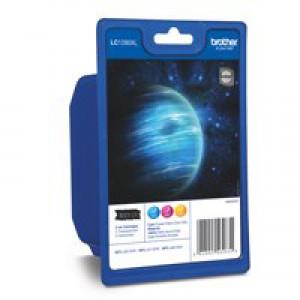 Brother LC-1280XL Inkjet Cartridge Rainbow Pack LC1280XLRBWBP