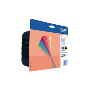 Brother Black/Colour LC223 Inkjet Cartridge Value Pack LC223VALBP