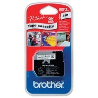Brother P-Touch M Tape 9mm Black/White MK221BZ
