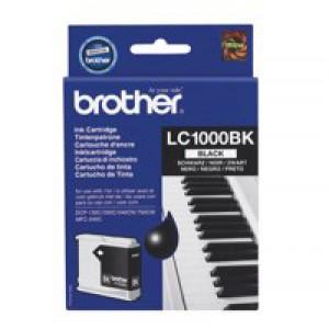 Brother DCP-350C/MFC-3360C Inkjet Cartridge Black LC-1000BK