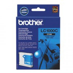 Brother DCP-350C/MFC-3360C Inkjet Cartridge Cyan LC-1000C