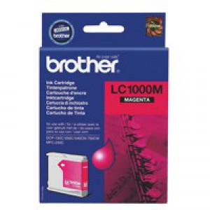 Brother DCP-350C/MFC-3360C Inkjet Cartridge Magenta LC-1000M