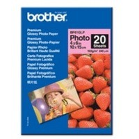Brother Glossy Paper 6x4 inch Pack of 50 Sheets BP61GLP50