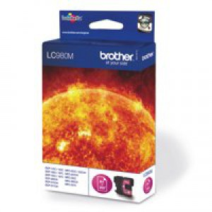 Brother LC-980 Inkjet Cartridge Magenta LC980M