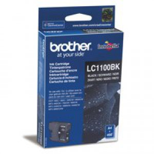 Brother LC-1100 Inkjet Cartridge Black LC1100BK