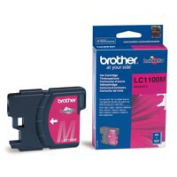 Brother LC-1100 Inkjet Cartridge Magenta LC1100M