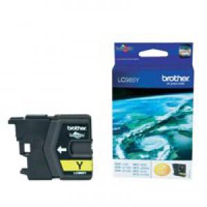 Brother DCP-J125/315W/515W MFC-J265W/J410/J615W Inkjet Cartridge Yellow LC985Y