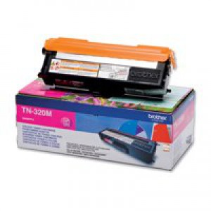 Brother TN320 Toner Cartridge Standard Yield Magenta TN320M