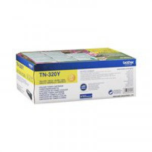 Brother TN320 Toner Cartridge Standard Yield Yellow TN320Y