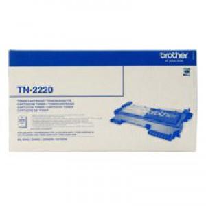 Brother HL-2240/D/2250DN/2270DW Toner Cartridge Black 2.6K TN2220