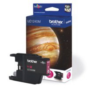 Brother Inkjet Cartridge Magenta LC1240M