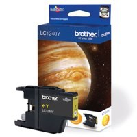 Brother Inkjet Cartridge Yellow LC1240Y