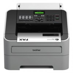 Brother FAX-2840 Mono Laser Fax Machine Grey