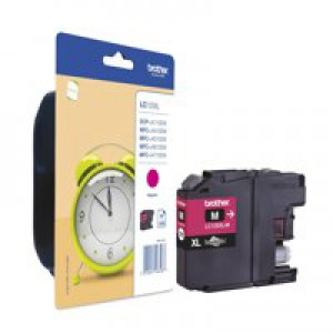 Brother LC125XLM High Yield Ink Cartridge Magenta