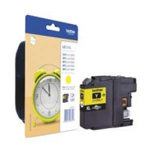 Brother LC125XLY High Yield Ink Cartridge Yellow
