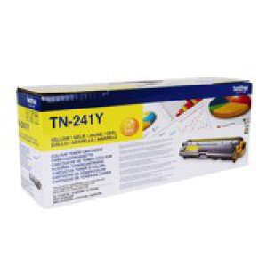 Brother HL3140/3150/3170/DCP-9020/MFC-9020/9140/9330/9340 Toner Cartridge Yellow TN241Y