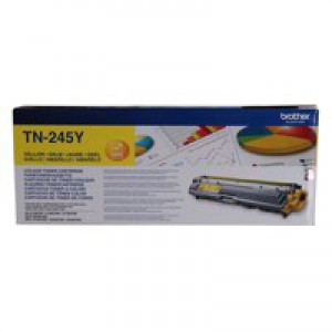 Brother HL3140/3150/3170/DCP-9020/MFC-9020/9140/9330/9340 High Yield Toner Cartridge Yellow TN245Y