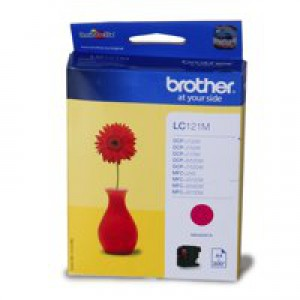 Brother Inkjet Cartridge Magenta LC121M