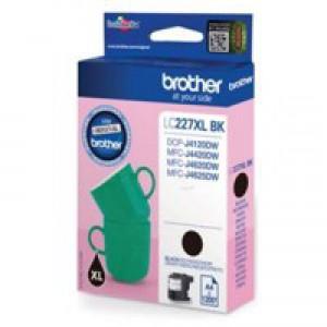 Brother Inkjet Cartridge XL Black (Pack of 1) LC227XLBK
