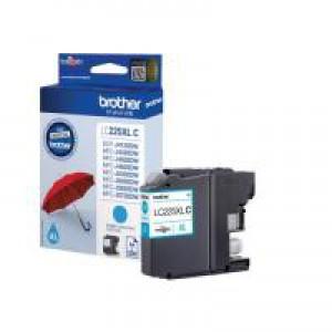 Brother Cyan Inkjet Cartridge XL LC225XLC