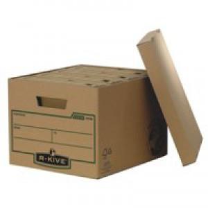 Fellowes Earth Series Storage Box Brown 4470601