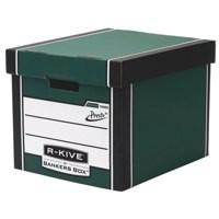 Fellowes R-Kive Premium Presto Storage Box Green/White 7260801