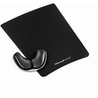 Fellowes Crystal Palm Support Black 9180701