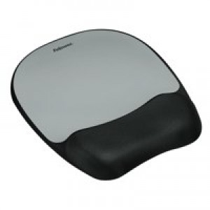 Fellowes Memory Mouse Pad and Wrist Rest Streak 9175801