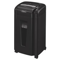 Fellowes MS460Cs Office Micro Shredder 2x8mm Cross Cut 28L 10x80gsm A4 W390xD390xH686mm Ref 3246101