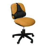 Fellowes Ultimate Back Support Black 8037601