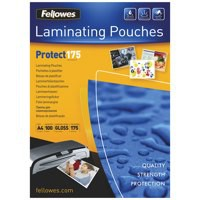 Fellowes Laminating Pouch A4 350micron Pack of 100 Protect 53087