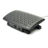 Fellowes Professional Series Climate Control Foot Support Black 8060901