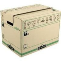 Fellowes Bankers Box Moving Box Large Brown/Green (Pk 5) 6205301 (FPC)