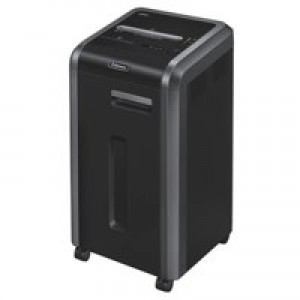 Fellowes 225i Shared Workspace Shredder 5.8mm Strip Cut 60 Litre DIN2 120 Sheet Ref 4623101