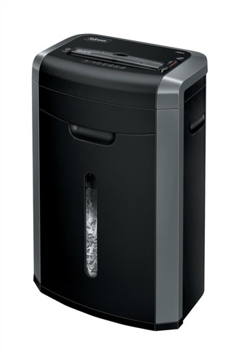Fellowes 72Ct Deskside Shredder 3.9x38mm Cross Cut 25 Litre Din3 12 Sheet Ref 72CT