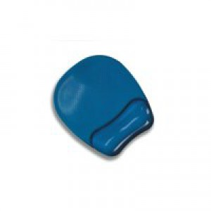 Fellowes Crystal Gel Mouse Pad Blue 9114106
