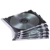 Fellowes Slimline CD Jewel Case Pack of 25 Clear 98316