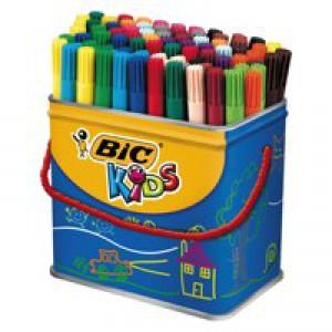Bic Visa Colouring Pens Drum Pk 84
