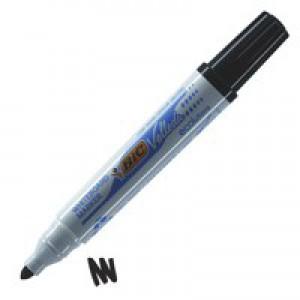 Bic Velleda Whiteboard Marker Bullet Tip Black 701099