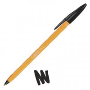 Bic Orange Fine Ballpoint Pen Black 1199110114